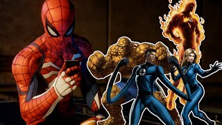 Are The Fantastic 4 Secretly In Spider-Man PS4?