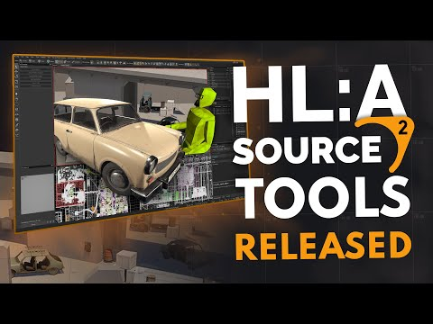 Valve Releases Source 2 Tools - Half-Life Alyx Workshop is Out!