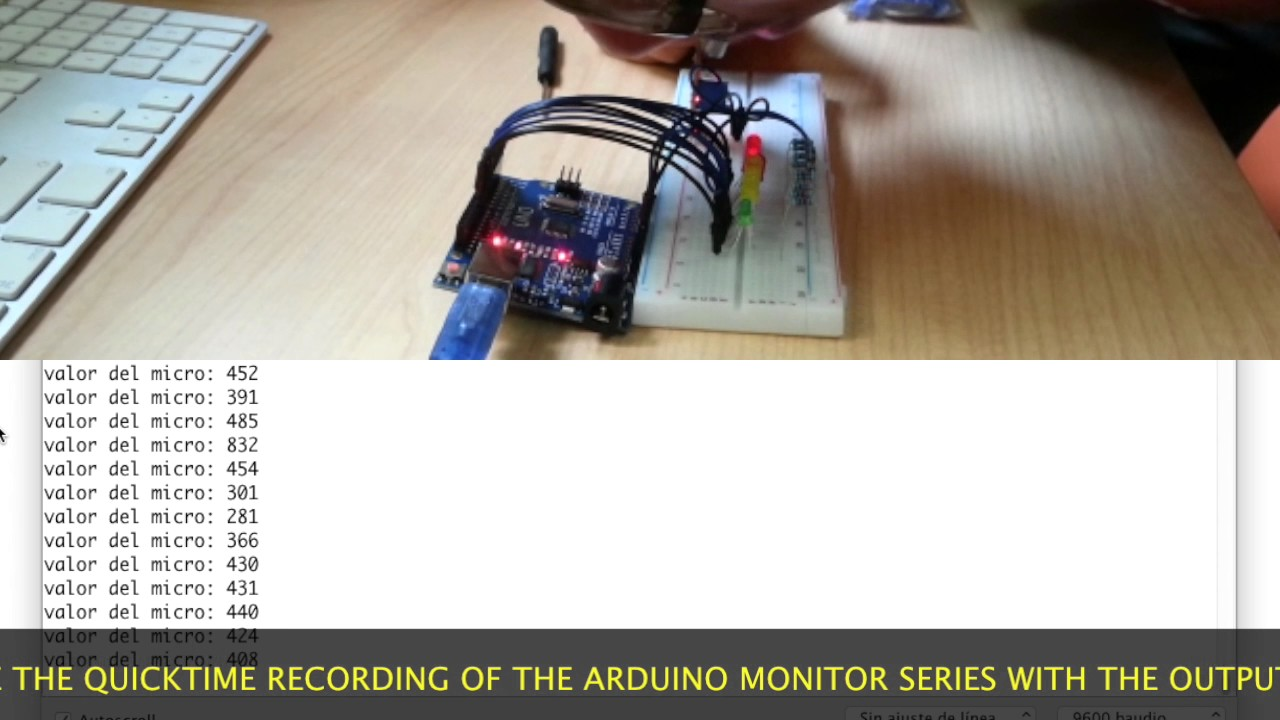 Microphone sensor - Arduino