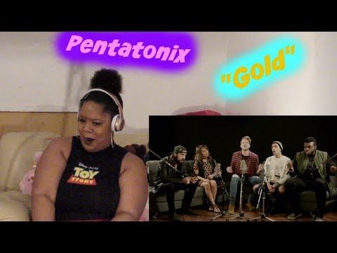 "Pentatonix-  ""Gold""Kiiara Cover Reaction Lit"