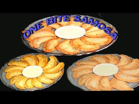ONE BITE SAMOSA | MINI SAMOSA | WITH SUBTITLES | homemade easy yummy tasty and kids favorite recipe