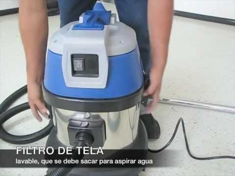 Aspiradora agua y polvo 15l m0571a youtube - Aspiradoras de agua ...