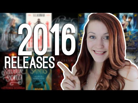 MOST ANTICIPATED BOOK RELEASES OF 2016