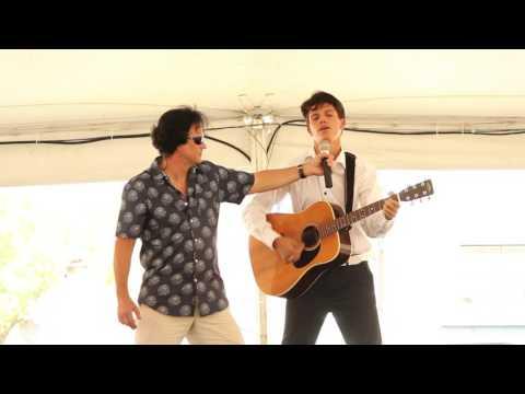 Liam Grosso sings 'Blue Suede Shoes' Elvis Week 2016