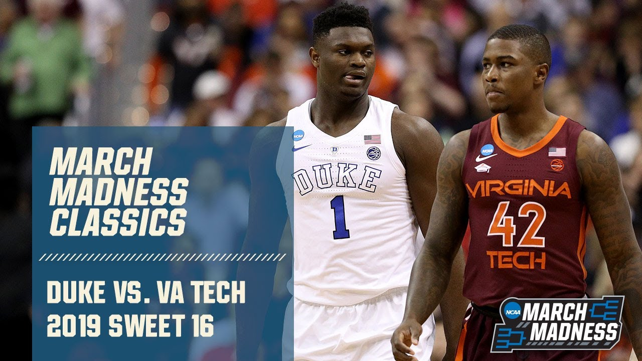 Duke V Virginia Tech 2019 March Madness Classic Full Game Youtube