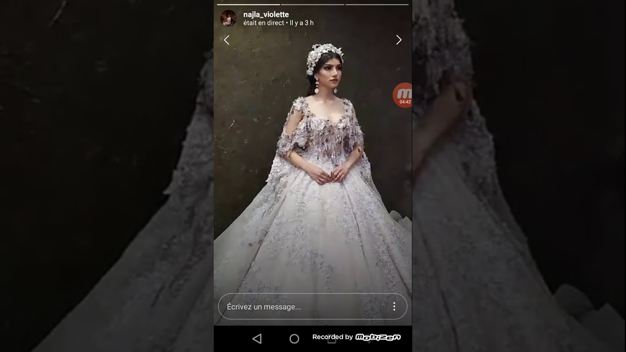 c487f5df925 Collection 2019 de robes de fête de mariage de violette tunis - YouTube
