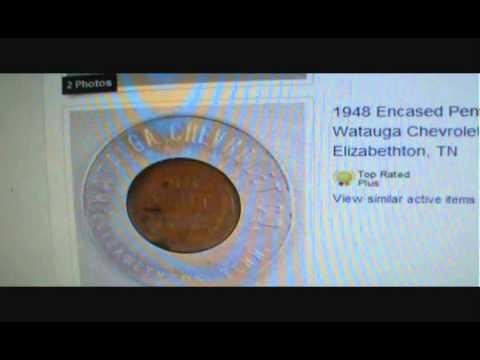 Encased Coins DIY Home Made Selling On Ebay