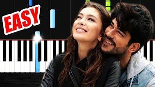 Kokun Hala Tenimde - Kara Sevda  - Piano Tutorial by VN
