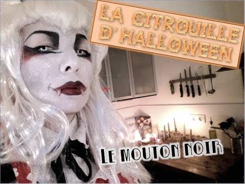 La citrouille d'Halloween & gratin aux pommes / VEGAN