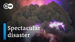 Massive eruption of Philippines Taal Volcano imminent   DW News