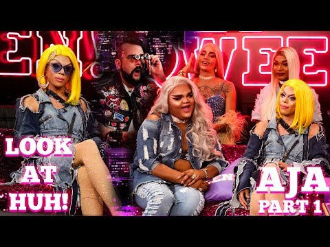 Drag Race All Star AJA on Look At Huh!- Part 1
