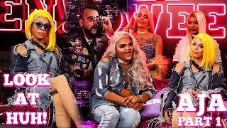 Drag Race All Star AJA on Look At Huh!- Part 1 | Hey Qween