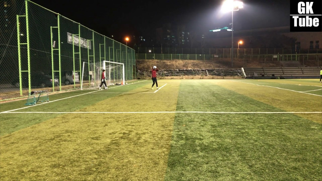 [U-18 골키퍼 근거리 & 크로싱 훈련] / U-18 Goalkeeper near & Crossing training