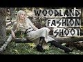Fashion Editorial Shoot Outdoors Using High Speed Sync Photography
