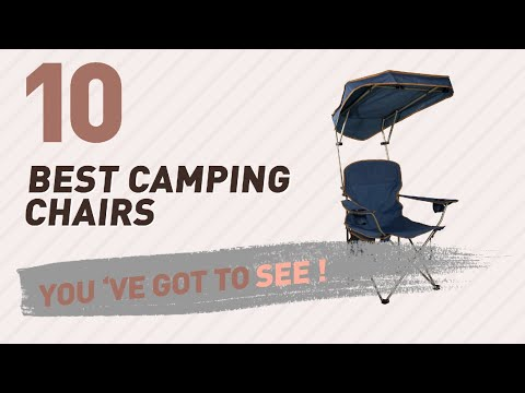 Camping Chair With Shade, Top 10 Collection // New & Popular 2017
