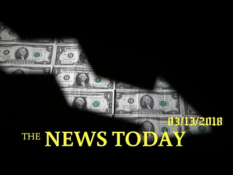 Dollar Falls, But Wall Street Shrugs Off Trump Ouster Of Tillerson | News Today | 03/13/2018 | ...