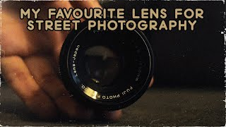My FAVOURITE LENS for STREET PHOTOGRAPHY *unexpected*
