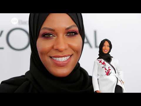 #منوعات_الآن | تكريم الأمريكية المسلمة ابتهاج محمد بـ #باربي ترتدي الحجاب  - 12:23-2017 / 11 / 16