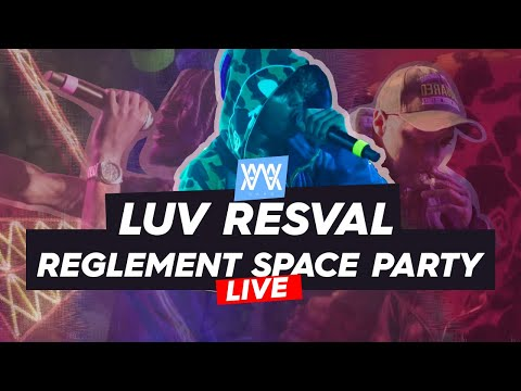 Youtube: © AWA // Luv Resval en live @ Le Règlement Space Party (Guests Diddi Trix & Alkpote)