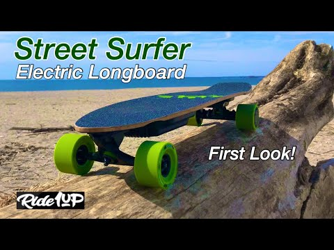 "Ride1Up ""Street Surfer"" ESK8 1st Look - Boosted Board For The Beach! Ep. #4"