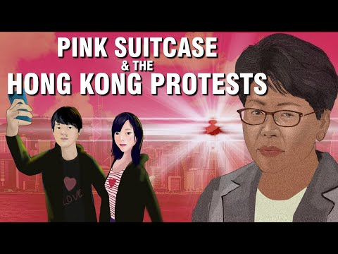 How a love-fight over a pink suitcase, sparked off Hong Kong's dramatic protests.