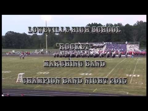 "Lowellville High School  ""Rocket"" Marching Band, Champion Band Night 2015"