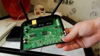 Разборка и ремонт роутера D-Link DIR-615