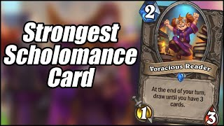 The Strongest Scholomance Card | Card Review (Part 10) | Scholomance Academy | Hearthstone