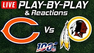 Bears vs Redskins | Live Play-By-Play & Reactions