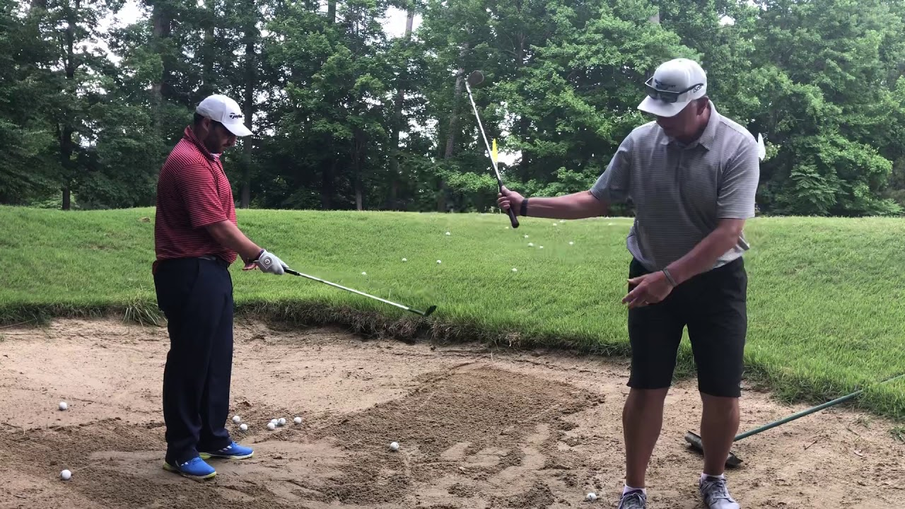 How To Play Bunker Shots From Be Better Golf School Golden