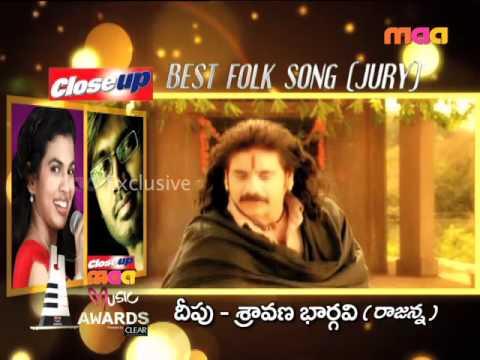 Maa  Awards  - Best Folk Song Deepu & Sravana Bhargavi