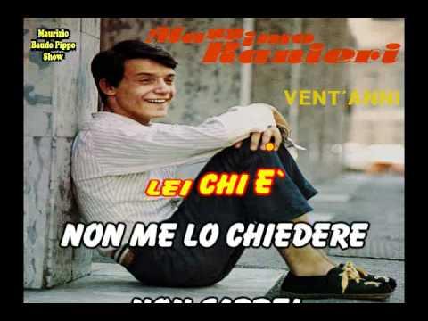 Base Karaoke - Candida - Massimo Ranieri - By Baudo Pippo Show