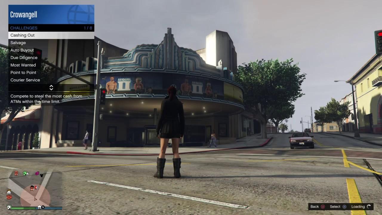 GTA Online - Most Wanted - Tivoli Cinema - Morningwood Blvd. - YouTube