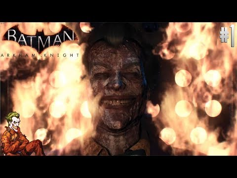 DID THEY GIVE ME A GUN?! | Joker Plays: Arkham Knight #1