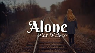 Download Alone - Alan Walker ( Lirik )