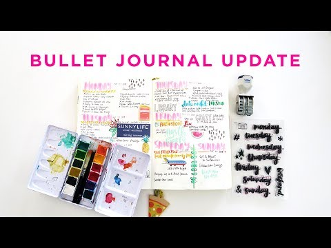Plan With Me June | Bullet Journal