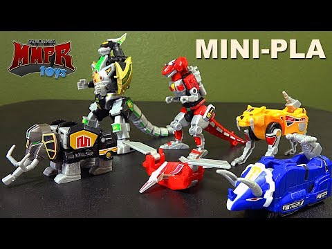 Mighty Morphin Power Rangers Super Mini-Pla Megazord & Dragonzord