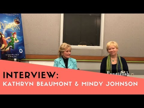 PETER PAN w Kathryn Beaumont & Mindy Johnson Roundtable