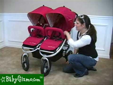Bumbleride stroller red