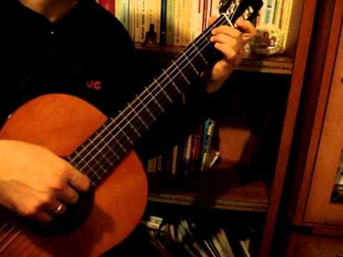 Love ballad -  Ερωτικό - Θ Μικρούτσικος- solo guitar