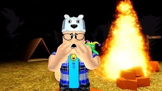 ROBLOX: I WAS FORGOTTEN IN A CAMP IN THE MIDDLE OF THE FOREST!! -Play Old man