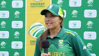 Kapp magic helps Proteas Women clinch series