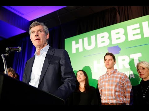 In his concession speech, Fred Hubbell urges Kim Reynolds to 'represent all of Iowa'