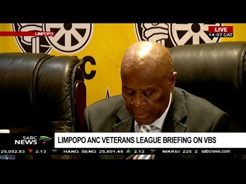 ANC Veterans League in Limpopo briefs media on the VBS scandal