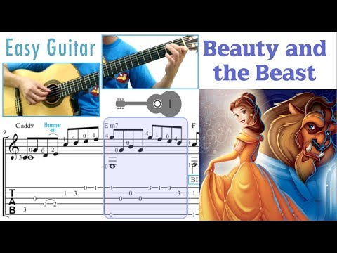 Beauty and the Beast (Easy Guitar)