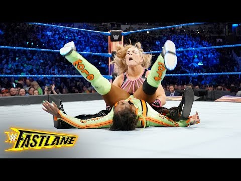 Natalya drops Naomi with a stinging powerbomb: WWE Fastlane 2018 (WWE Network Exclusive)