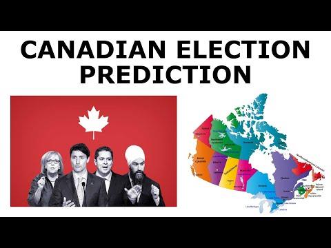 2019 Canadian Election Prediction