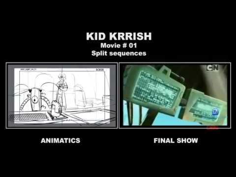 KID KRRISH Movie01 Storyboard Split Sequence