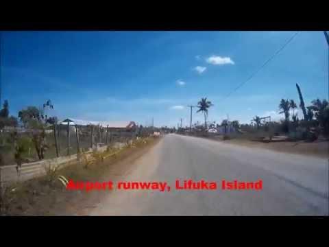 Cycling around Ha'apai, Tonga