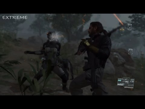 Metal Gear Solid 5 : [ Extreme ] Female Skulls Boss fight, non lethal, CQC (with fail section)